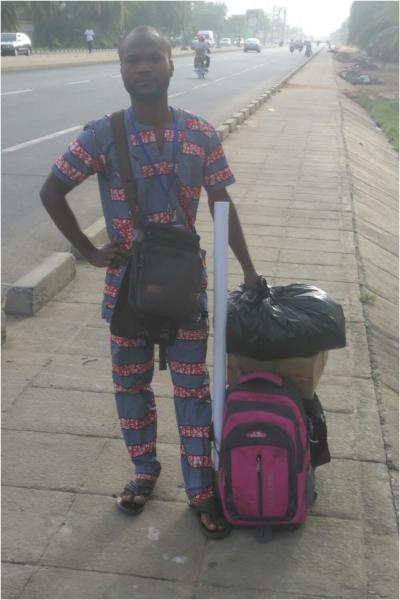 En route pour le village