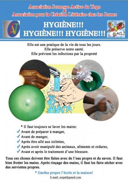 Sensibilisation sur l'hygiène